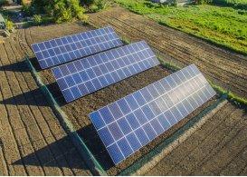 Сетевая солнечная электростанция мощностью 30 кВт, Одесская область, лето 2018 г.