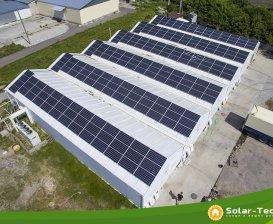 Мережева СЕС під власне споживання потужністю 81 кВт, Хмельницька обл. (літо 2019)