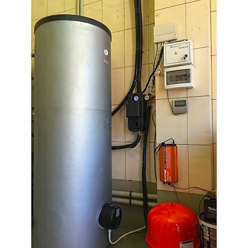 Система горячего водоснабжения на вакуумных коллекторах