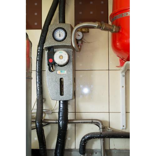 Система гарячого водопостачання і підтримки опалення, с. Крюковщина