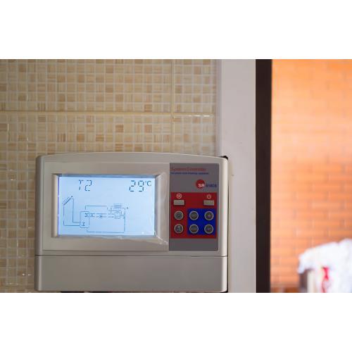 Система горячего водоснабжения на 200 литров на вакуумных коллекторах