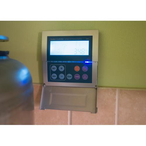 Комплексное решение, система горячего водоснабжения, подогрева бассейна и поддержки отопления на вакуумных коллекторах.