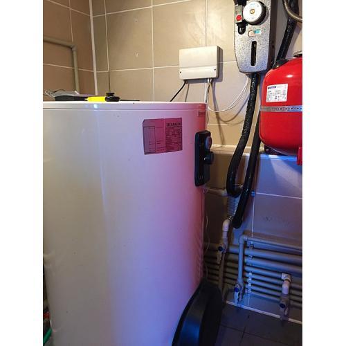 Система горячего водоснабжения на 180л на вакуумных гелиоколлекторах