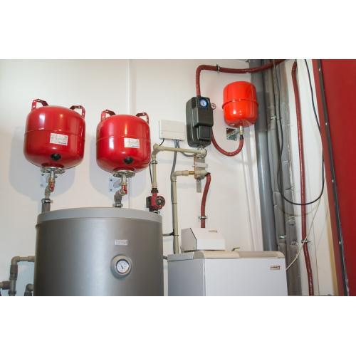 Система гарячого водопостачання і підтримки опалення, c. Тарасівка