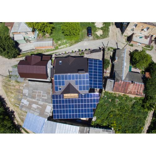 """Мережева сонячна електростанція під """"зелений"""" тариф, потужністю 30 кВт."""