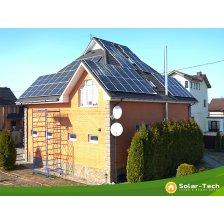 Сколько стоит Сетевая солнечная электростанция мощностью 12,5 кВт г. Борисполь, весна 2019