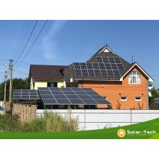 Сколько стоит Сетевая солнечная электростанция мощностью 27,5 кВт г. Борисполь, (весна 2019)