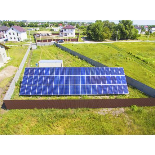 """Мережева сонячна станція потужністю 19.8 кВт під """"зелений"""" тариф"""