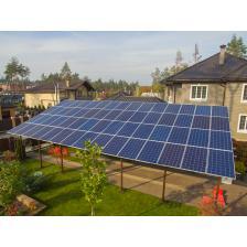 Сетевая солнечная электростанция мощностью 15 кВт г. Буча, объект №2
