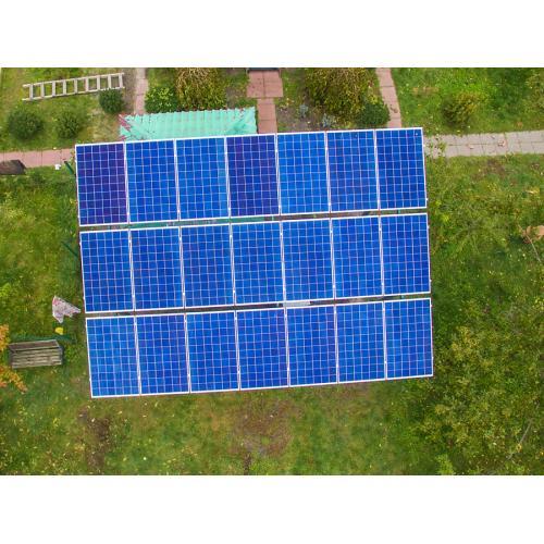 """Сетевая солнечная электростанция мощностью 10 кВт под """"зеленый"""" тариф"""