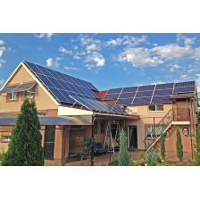 Сетевая солнечная электростанция мощностью 30 кВт, Донецкая область (лето 2018)
