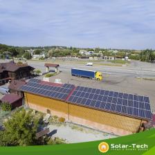Сколько стоит Сетевая СЭС под собственное потребление мощностью 30 кВт, Житомирская обл. (лето 2019)