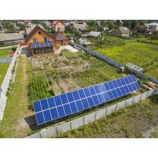 Сетевая солнечная электростанция мощностью 15 кВт с. Гнедин (лето 2018 г.)