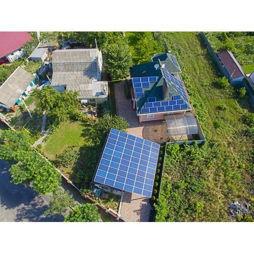 Мережева сонячна електростанція потужністю 25 кВт під зелений тариф