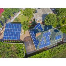 Сетевая солнечная электростанция мощностью 25 кВт с. Гнедын