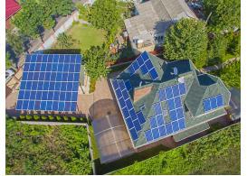 Мережева сонячна електростанція потужністю 25 кВт с. Гнідин