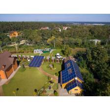 Сетевая солнечная электростанция мощностью 30 кВт, с.Гореничи