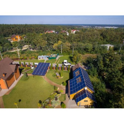 """Мережева сонячна електростанція потужністю 30 кВт під """"зелений"""" тариф"""