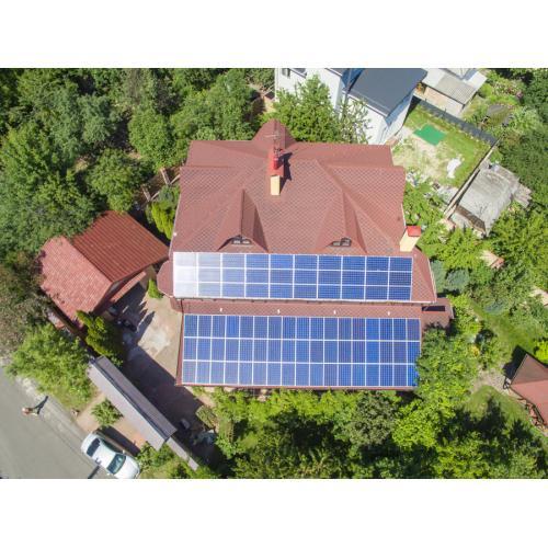 """Сетевая солнечная электростанция 17,5 кВт под """"зелёный"""" тариф, г.Киев"""