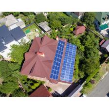 Сетевая солнечная электростанция мощностью 17,5 кВт, г. Киев