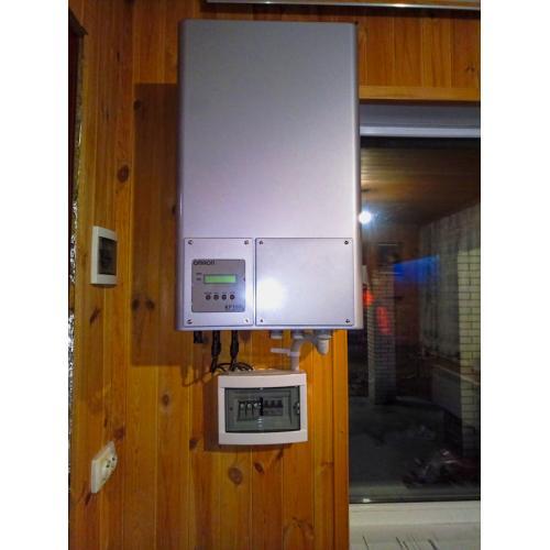 """Мережева сонячна електростанція потужністю 10 кВт під """"зелений"""" тариф с. Кипячка"""