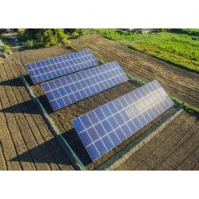Сколько стоит Сетевая солнечная электростанция мощностью 30 кВт, Одесская область, лето 2018 г.