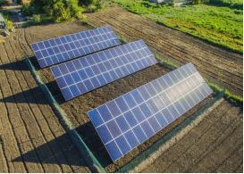 Мережева сонячна електростанція потужністю 30 кВт, Одеська область, літо 2018