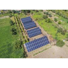 Сетевая солнечная электростанция мощностью 30 кВт, Одесская область 2, лето 2018 г.