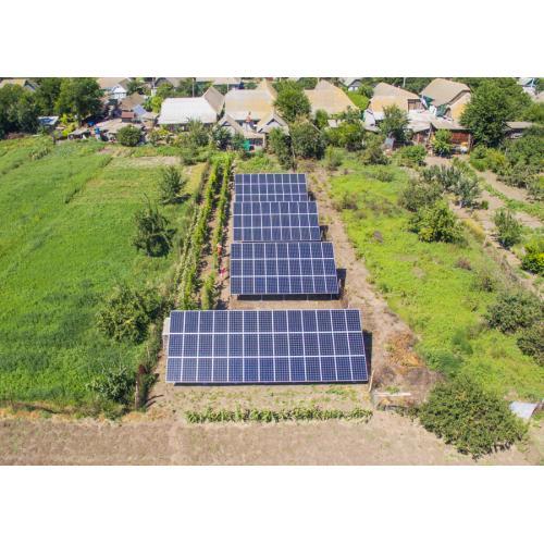 """Наземная солнечная электростанция мощностью 30 кВт под """"зеленый"""" тариф"""