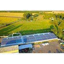 Сколько стоит Промышленная сетевая солнечная электростанция мощностью 120 кВт, г. Лубны