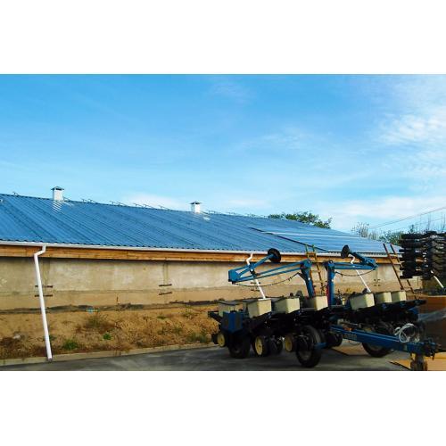 """Сетевая солнечная электростанция мощностью 120 кВт под """"зеленый"""" тариф"""