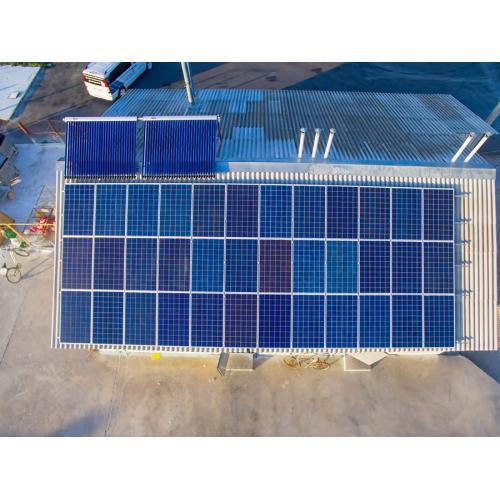 Сетевая солнечная электростанция мощностью 10 кВт для собственного потребления