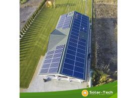 Сетевая солнечная электростанция мощностью 16 кВт на инверторе SolarEdge
