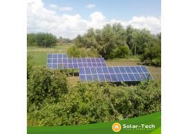 Мережева сонячна електростанція потужністю 15 кВт на инверторі SolarEdge, Мена (літо 2019)