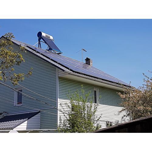 Сетевая солнечная электростанция мощностью 5 кВт под зеленый тариф