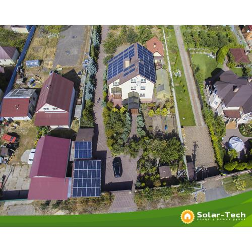 """Солнечная электростанция мощностью 30 кВт под """"зеленый"""" тариф, Київ."""