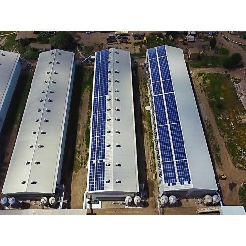 """Мережева сонячна електростанція потужністю 303 кВт під """"зелений"""" тариф"""