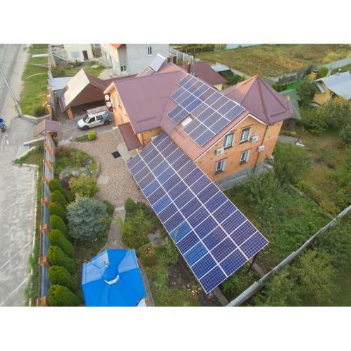 Мережева сонячна електростанція потужністю 25 кВт для продажу за «зеленим» тарифом