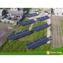 Сколько стоит Сетевая солнечная электростанция мощностью 30 кВт, Радивилов (весна 2019).