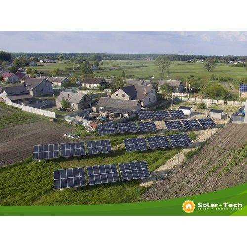 Наземная солнечная электростанция 30 кВт под зелёный тариф в Радивилове