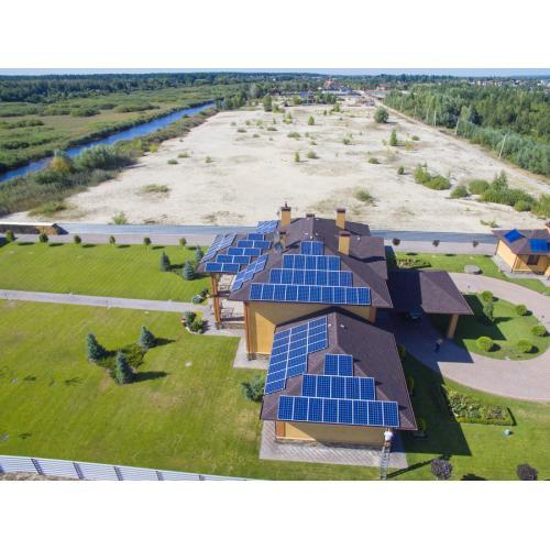 Солнечная электростанция на инверторе Huawei, мощностью 30 кВт под зеленый тариф