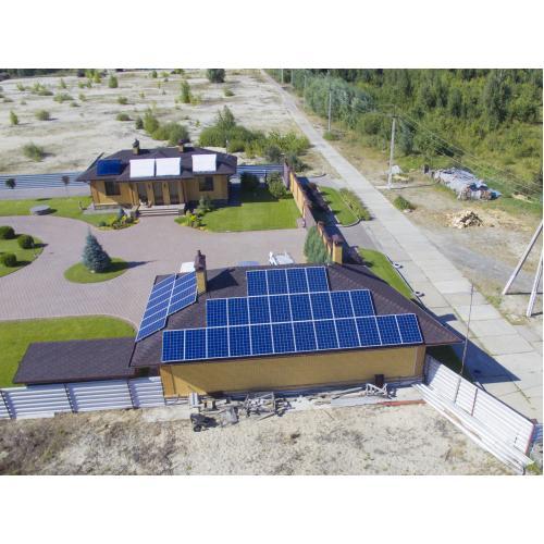 """Сонячна електростанція на інверторі Huawei, потужністю 30 кВт під """"зелений"""" тариф"""
