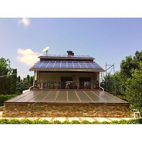 Сетевая солнечная электростанция мощностью 20 кВт под зеленый тариф