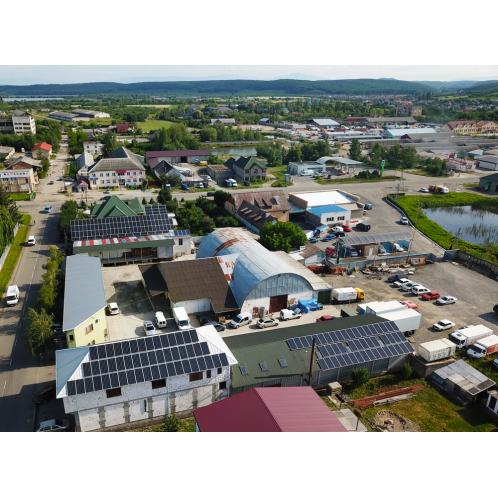 Мережева сонячна електростанція потужністю 33 кВт