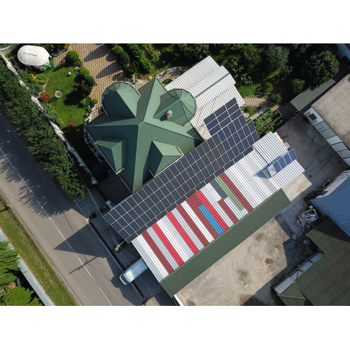 """Мережева сонячна електростанція потужністю 30 кВт, під """"зелений"""" тариф"""