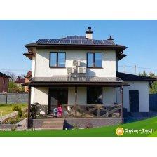 Скільки коштує Мережева сонячна електростанція потужністю 6,6 кВт, с. Віта-Поштова, весна 2019 (1ша черга)