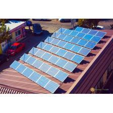 Сколько стоит Сетевая солнечная электростанция мощностью 11,5 кВт визового центра Канада Франция