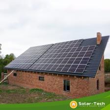 Сколько стоит Сетевая солнечная электростанция мощностью 30 кВт с. Здолбица, весна 2019