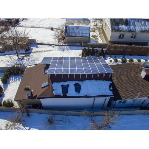 """Мережева сонячна електростанція потужністю 15 кВт, під """"зелений"""" тариф"""