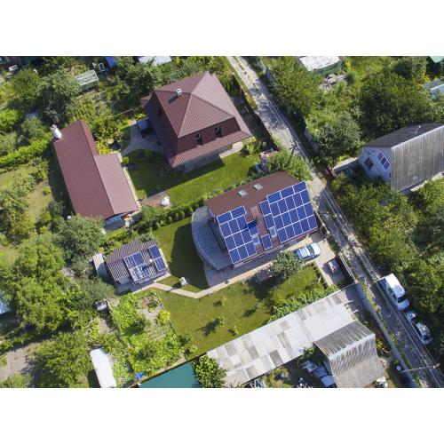 Гибридная солнечная электростанция 10,7 кВт, с. Княжичи